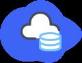Icono cloud storage